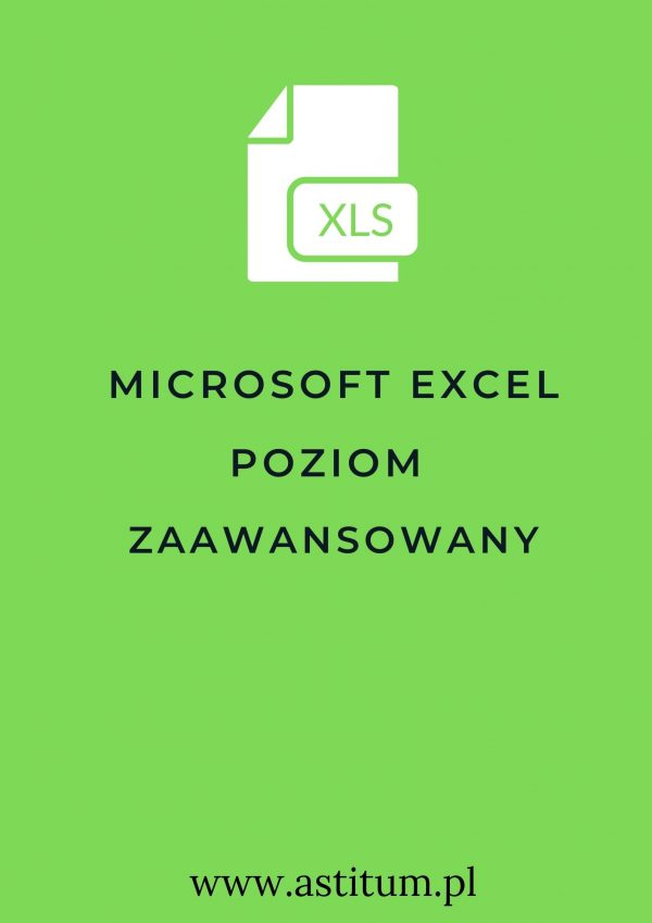 Microsoft Excel poziom zaawansowany