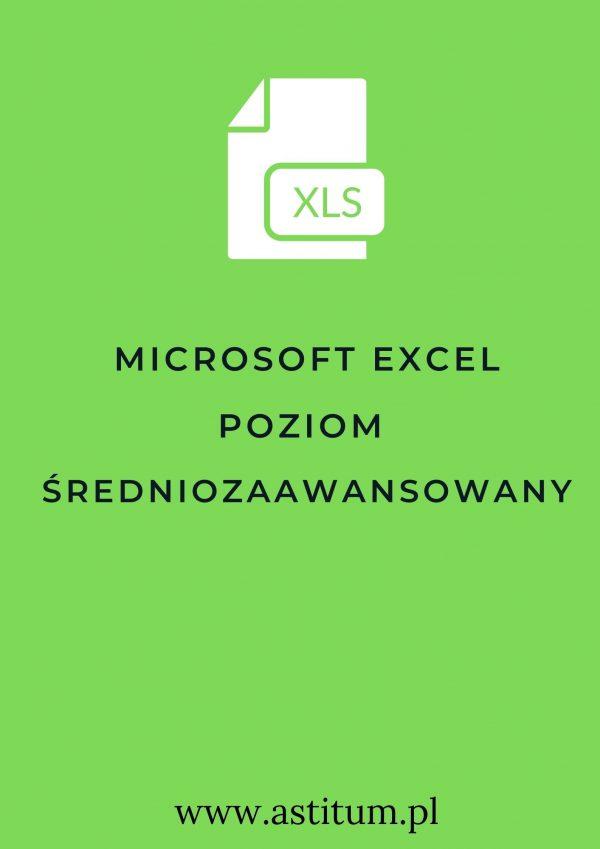 Microsoft Excel poziom średniozaawansowany