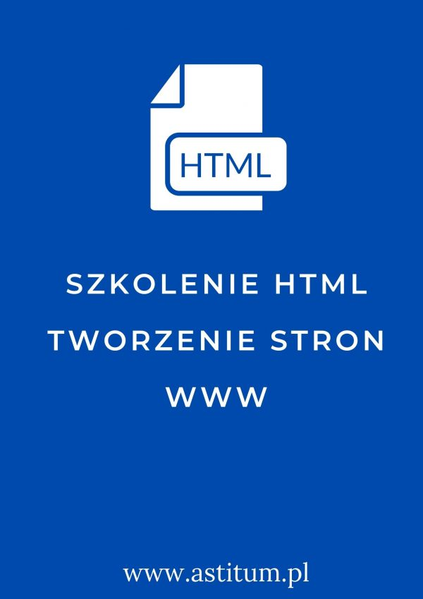 Szkolenie HTML tworzenie stron www