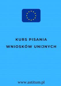 Kurs pisania wniosków unijnych